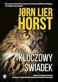 Seria o komisarzu Williamie Wistingu. Kluczowy świadek - Jorn Lier Horst - ebook + audiobook