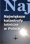 Największe katastrofy lotnicze w Polsce - Jacek Leski - ebook