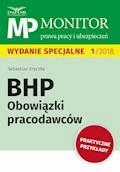 BHP Obowiązki pracodawców - Sebastian Kryczka - ebook