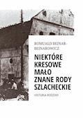 Ród Bejnar-Bejnarowicz. Historia rodziny - Romuald Bejnar-Bejnarowicz - ebook