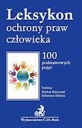 Leksykon ochrony praw człowieka - Julia Kapelańska-Pręgowska, Oktawian Nawrot - ebook