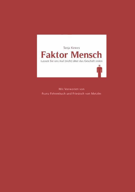 Faktor Mensch Tanja Kewes Ebook Legimi Online