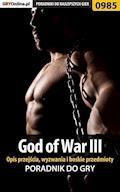 """God of War III - opis przejścia, wyzwania, boskie przedmioty - Łukasz """"Crash"""" Kendryna - ebook"""
