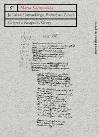 Juliusza Słowackiego Podróż Do Ziemi świętej Z Neapolu