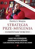 Strategia prze-myślenia – elementarz sukcesu - czyli mały nie-poradnik ogromnych różnic i jak odzyskać swoje życie dla siebie - Piotr S. Wajda - ebook + audiobook