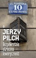 Bezpowrotnie utracona leworęczność - Jerzy Pilch - ebook