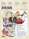 Miesięcznik Znak. Lipiec-Sierpień 2014 - Opracowanie zbiorowe - ebook