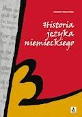 Historia języka niemieckiego - Norbert Morciniec - ebook